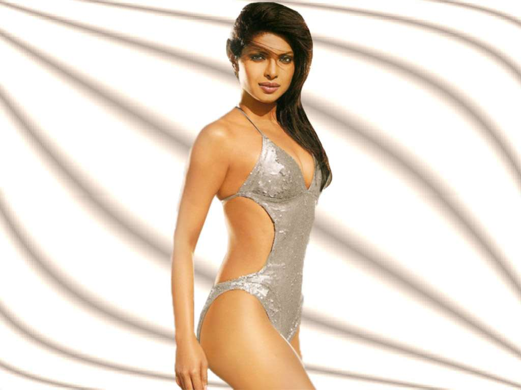 Priyanka chopra goldener Bikini