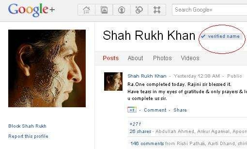 SRK-Google+