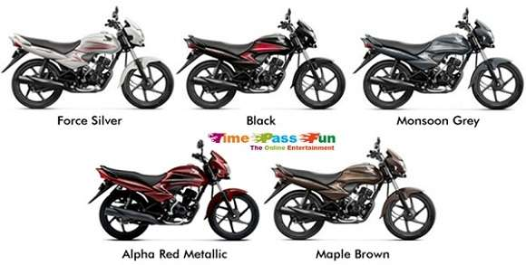 Dream Yuga Bike Colors