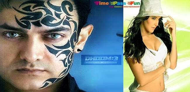Katrina Kaif in Doom 3 with Amir Khan