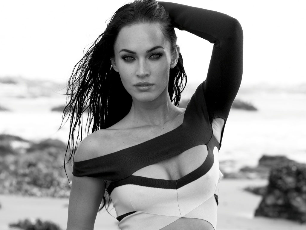 megan-fox-black-and-white