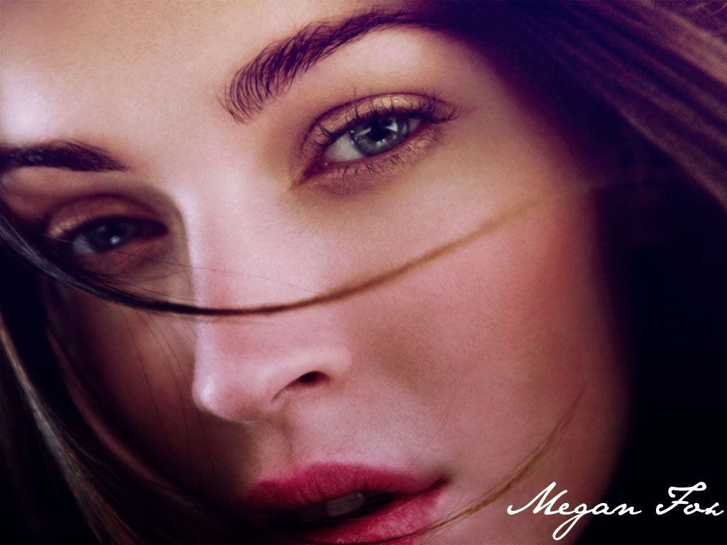 megan-fox-face-wallpapers