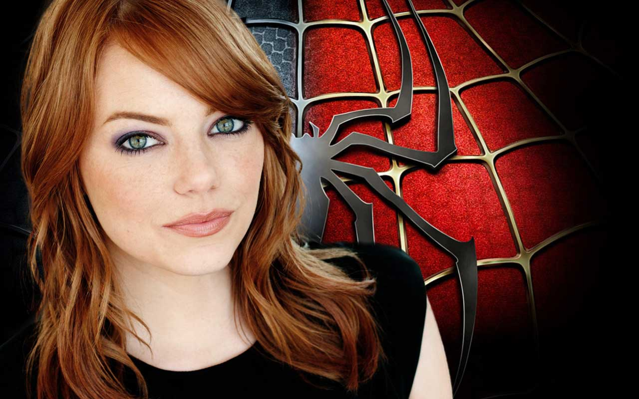 Emma Stone Amazing Spiderman Wallpaper
