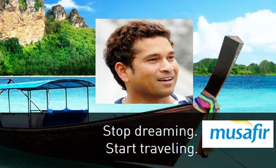 Sachin Tendulkar Become Brand Ambassador of UAE Travel Portal