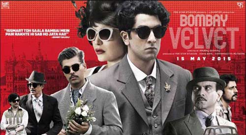 Bombay Velvet Movie Poster