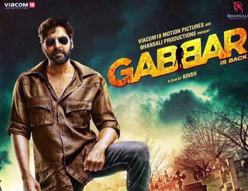 Gabbar is Back Poster 2015