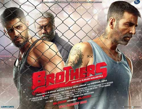 Brothers movie poster 2015