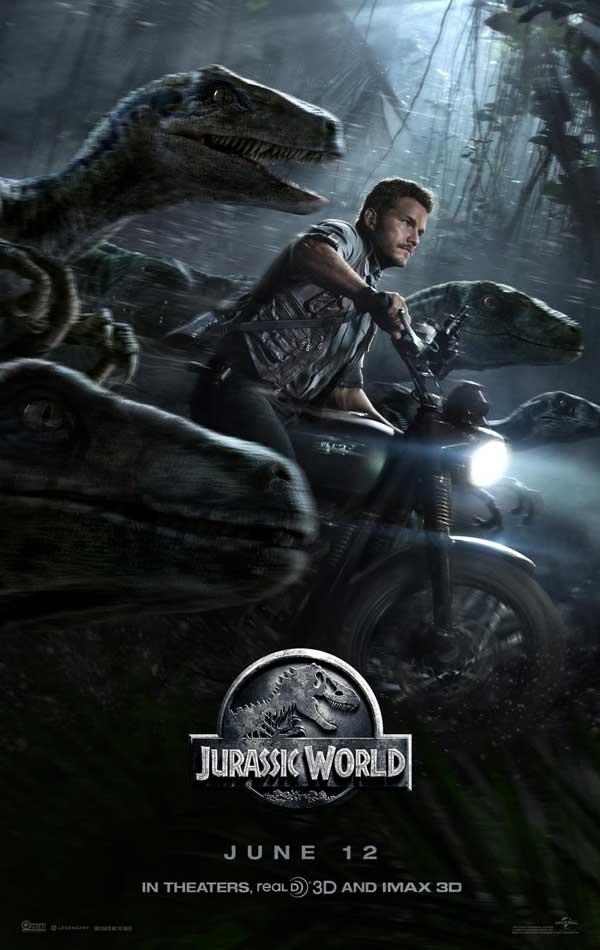 jurassic world poster 2015