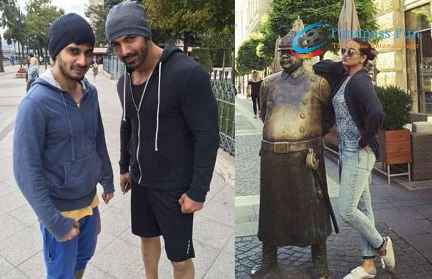 force 2 movie shooting off pics in Budapest