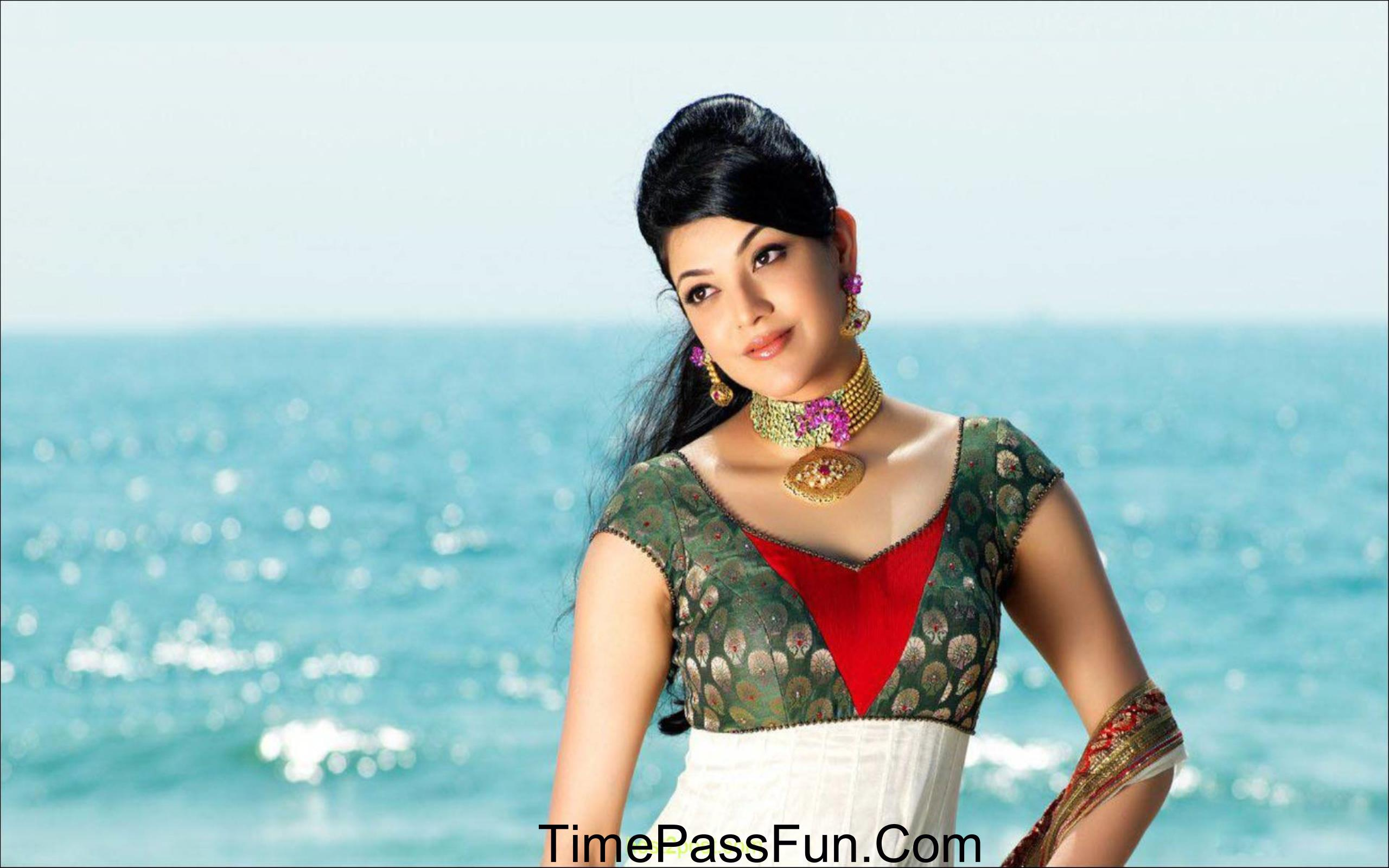 kajal-agarwal hd wallpaper 1 - timepass fun